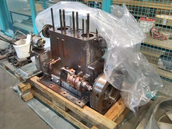 Der Rangierlokmotor