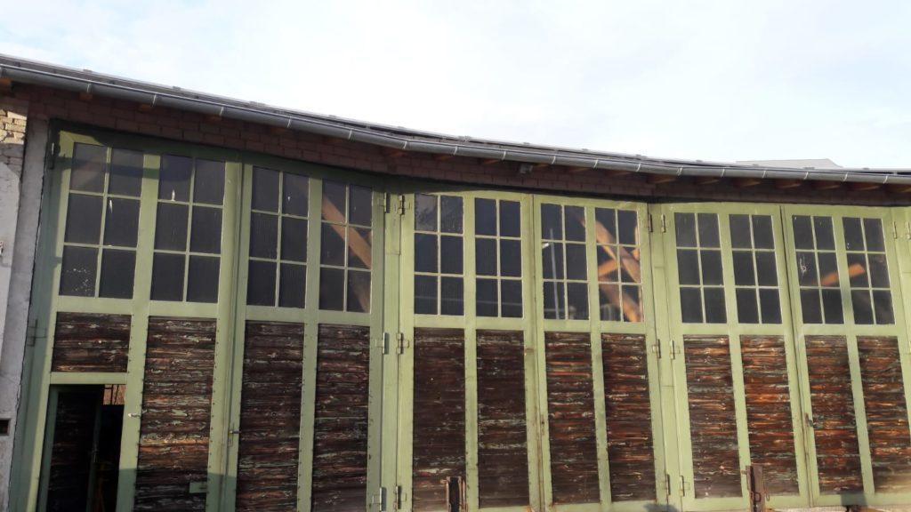Fenster Lokschuppentore